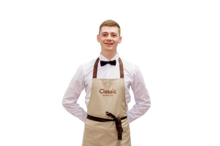 Официант обслуживание от классия