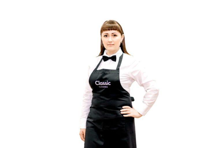 Официант - работник зала классик кейтеринг