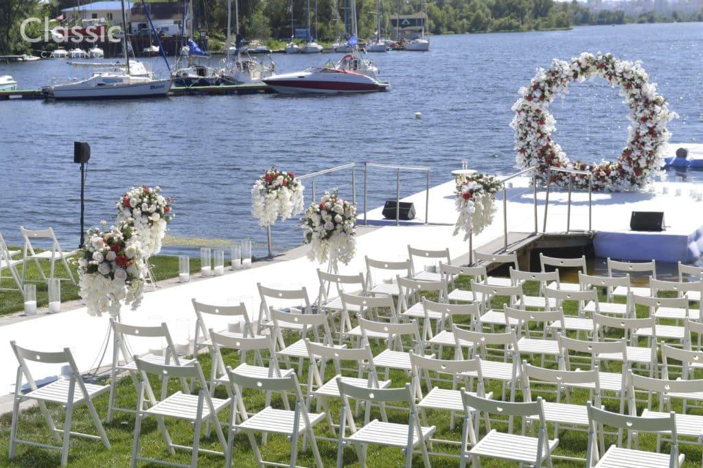 Выездные свадьбы классик